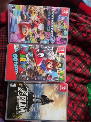 Nintendo switch Games!!! for Sale in Madera, CA