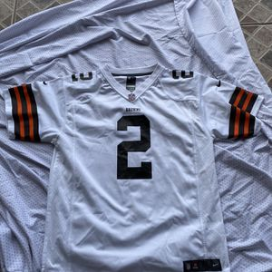 youth xl johnny manziel home nike cleveland browns jersey for Sale in Brownsville, TX