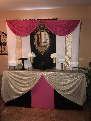 Candy table , dessert table , wedding , party , decorations , rent only for Sale in Tolleson, AZ