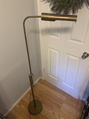 Brass Swing Arm Pharmacy Lamp by Frederick Copper for Sale in Austin, TX