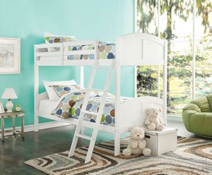 Twin/Twin Bunk Bed - 37009 - White HPCW6 for Sale in Pomona, CA