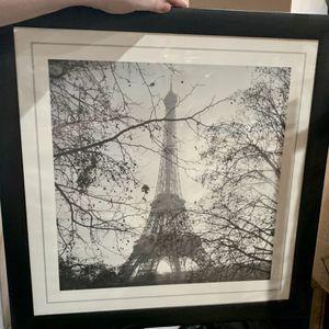 2 Framed Paris Prints 50cm X 50cm for Sale in Sherwood, OR