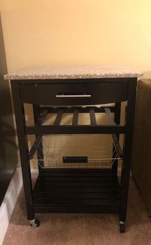 Console Table with wheels for Sale in Hilliard, OH