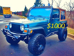 🚙🔥 2000 Jeep Wrangler'Clean title $1000 🚙🔥 for Sale in Rochester, MN