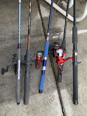 Fishing poles for Sale in Richmond, CA