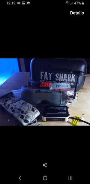 Fpv drone FatShark goggles Dvr for Sale in San Diego, CA