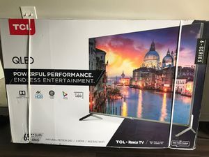 """TCL - 65"""" Class - LED - 6 Series - 2160p - Smart - 4K UHD TV with HDR - Roku TV Model:65R625 SKU:6367717 for Sale in Irving, TX"""