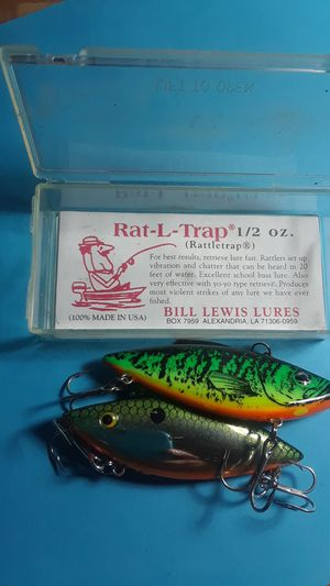 Fishing lures collection for Sale in Denver, CO