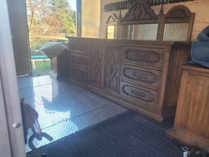 Dresser with mirror and armoire for Sale in Hillsboro, OR
