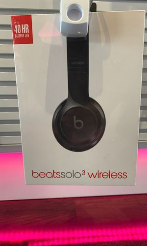 Beats solo 3 wireless headphones for Sale in undefined