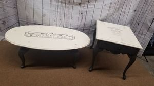 Set coffee table and end table for Sale in Olympia, WA
