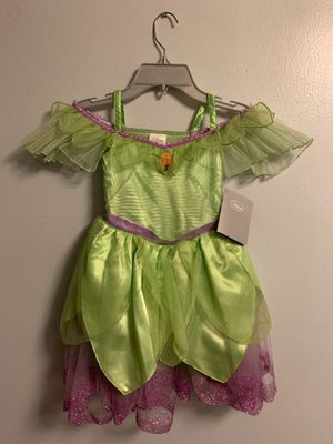 New Tinker Bell costume w/light up wings size 4 for Sale in Long Beach, CA
