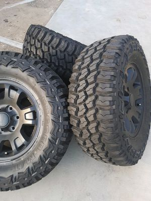 Americus, rugged m/t tires for Sale in West Covina, CA