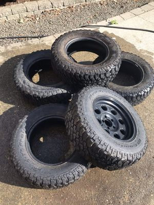 BF Goodrich mud terrain tires for Sale in Gig Harbor, WA