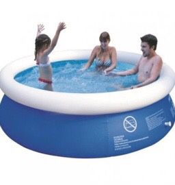 New in box 8 ft x 30 inch Easy-Set Giant Inflatable above Ground Swimming Pool easy setup for Sale in Whittier, CA