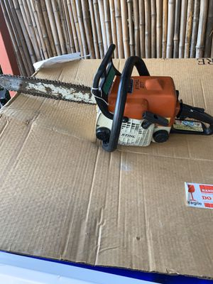 Super nice small steel chainsaw works excellent for Sale in San Diego, CA