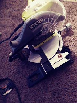 Compound Sliding Miter Saw (Ryobi) for Sale in Denver,  CO