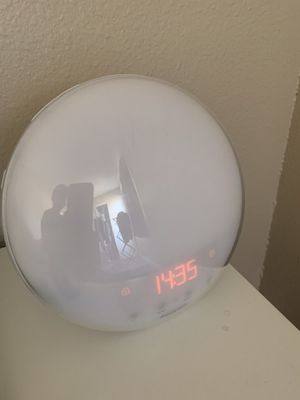 Philips Wake-Up Light Alarm Clock for Sale in Tucson, AZ