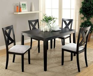 Black dining table set for Sale in Downey, CA