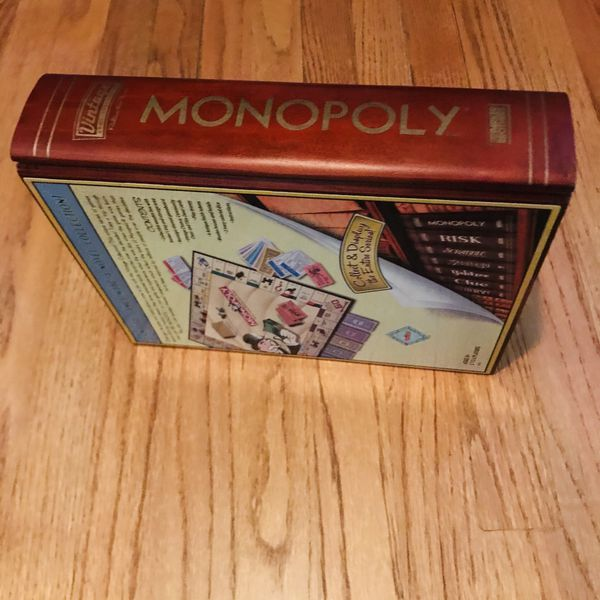 Monopoly Vintage Game Collection Book Shelf Edition - Parker Brothers