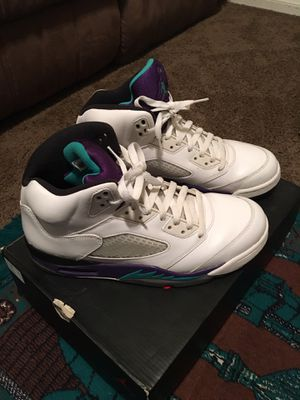 a31fd75e4728aa Air Jordan 5 retro size 10 like new worn a few times comes with box for