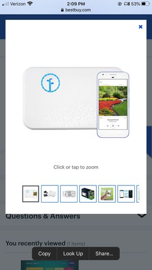 Rachio - 8-zone 2nd Generation Smart Sprinkler Controller for Sale in Kennesaw, GA