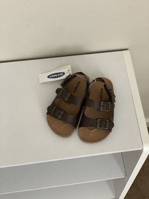 BABY BOY SANDALS SIZE 7 for Sale in Boring, OR