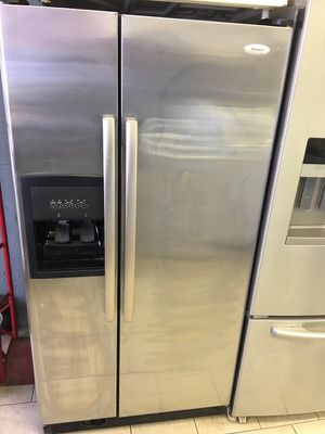 Whirlpool stainless steel refrigerator for Sale in Dearborn, MI