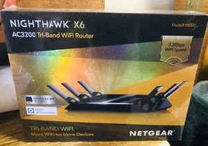 Netgear Nighthawk X6 Internet Wifi Router NEW for Sale in Dallas, TX
