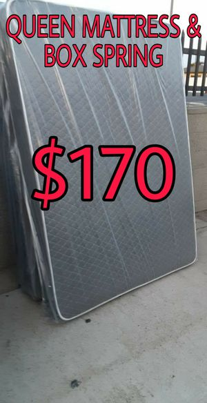 QUEEN MATTRESS AND BOX SPRING for Sale in Inglewood, CA
