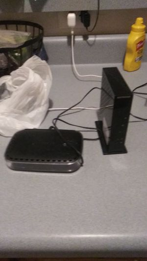 Netgear modem and router 25$ for Sale in Greensboro, NC