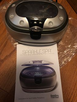 Sparkle Spa Ultrasonic Jewelry Cleaner for Sale in Raleigh,  NC
