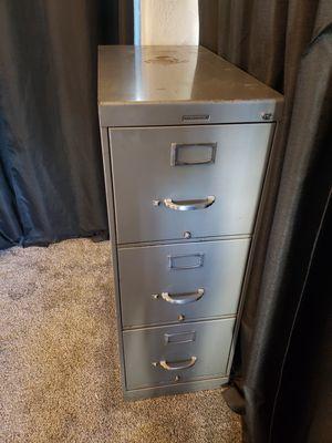 Steel Case Filing Cabinet for Sale in San Bernardino, CA