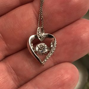 Dancing diamond necklace for Sale in Charles Town, WV