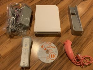 Nintendo Wii System w/ Controller & Game for Sale in Pendleton, IN