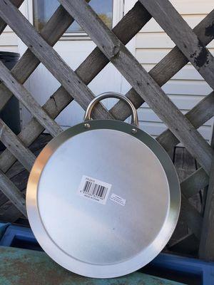 Comales de acero inoxidable redondos o largos for Sale in Aurora, IL