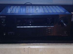 2 Polk Audio T-50 floor Speakers with Onkyo Reciver TX-SR393 BlueTooth surround sound Dolby Atmos Nice System for Sale in Nashville, TN