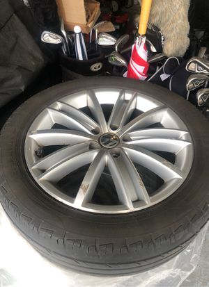 Volkswagen rims and tires for Sale in Bonney Lake, WA