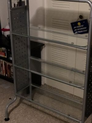 Metal & Glass office shelve for Sale in Orlando, FL