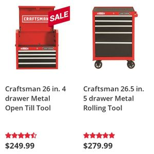 Craftsman combo boxes for Sale in Chickasha, OK
