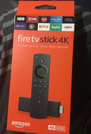 Amazon fire tv stick 4K for Sale in Fresno, CA