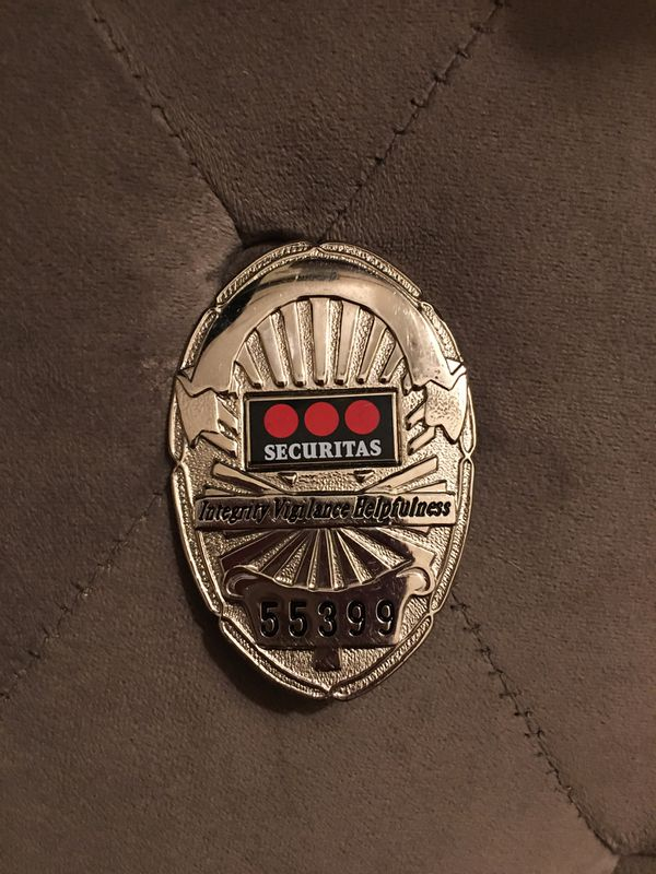 Security's badge