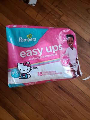 3 PACKAGES PAMPERS EASY UPS SIZE 4T 5T for Sale in Hyattsville, MD