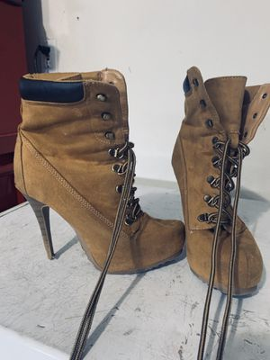 Women's sexy work boots stilettos for Sale in Spring Hill, FL
