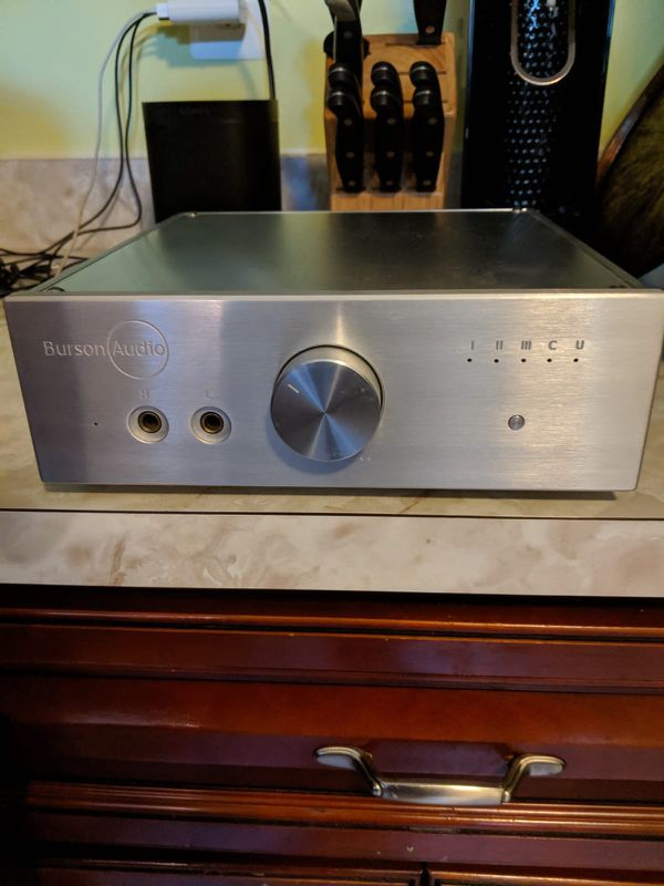 Burson Audio HA-160D Headphone Amplifier