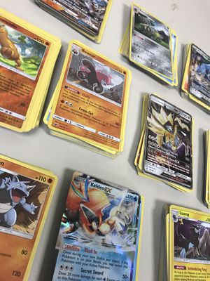 Pokémon Cards 50 Card Lot - Commons Uncommons Rares + Holos - All New M/NM for Sale in Cleveland, OH