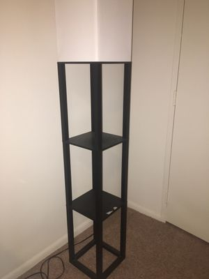 Floor lamp with shelves for Sale in Falls Church, VA