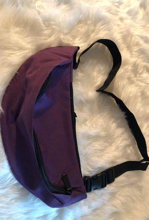 Purple Fanny Pack Waist Belt Zip Pouch for Sale in Baton Rouge, LA