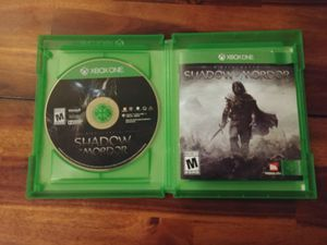 Xbox One Shadow of Mordor for Sale in Seattle, WA