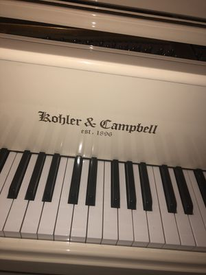 Koehler & Campbell White Baby Grand Piano for Sale in Destin, FL